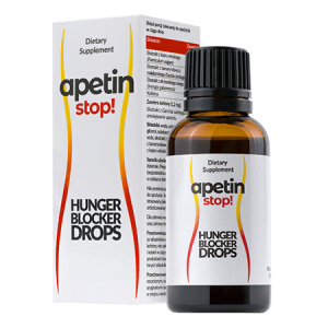 Apetin Stop krople - składniki, opinie, forum, cena, gdzie kupić, allegro - Polska